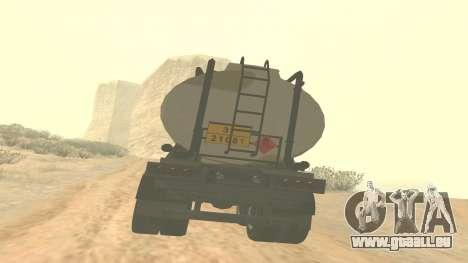 Trailer pour GTA 5 casernes ver. 2 pour GTA San Andreas laissé vue
