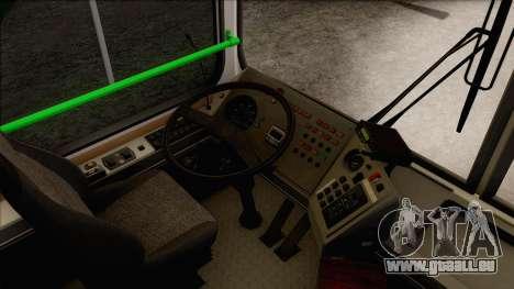 LIAZ 5256.57 pour GTA San Andreas vue intérieure