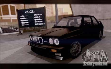 BMW M3 E30 Stock Version pour GTA San Andreas vue de côté