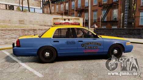 Ford Crown Victoria 1999 GTA V Taxi für GTA 4 linke Ansicht