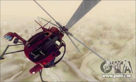 Bussard Angriff Hubschrauber von GTA 5 für GTA San Andreas
