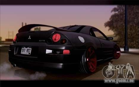 Mitsubishi Eclipse pour GTA San Andreas laissé vue