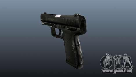 Halbautomatische Pistole Taurus 24-7 für GTA 4 Sekunden Bildschirm