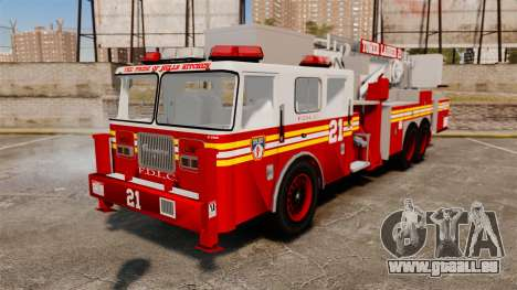 Seagrave Aerialscope Tower Ladder 2006 FDLC pour GTA 4