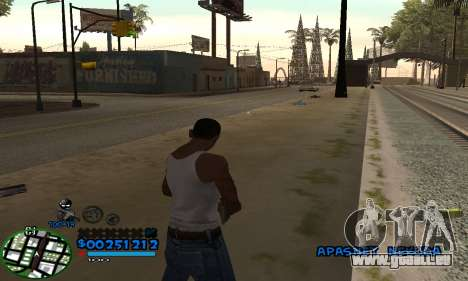 C-HUD CutHot pour GTA San Andreas