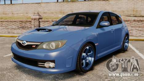 Subaru Impreza 2010 pour GTA 4
