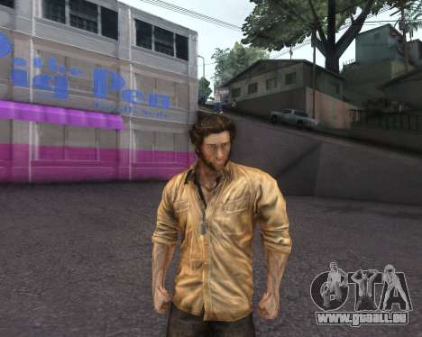 X-men Origins: Wolverine [Skins Pack] für GTA San Andreas dritten Screenshot
