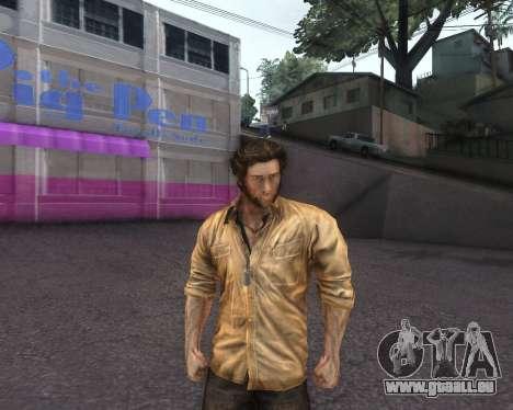 X-men Origins: Wolverine [Skins Pack] pour GTA San Andreas troisième écran