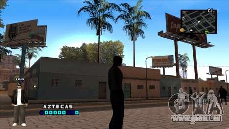 C-HUD Aztecaz für GTA San Andreas