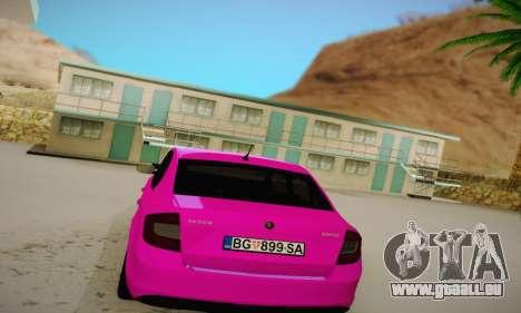 Skoda Rapid 2014 für GTA San Andreas rechten Ansicht