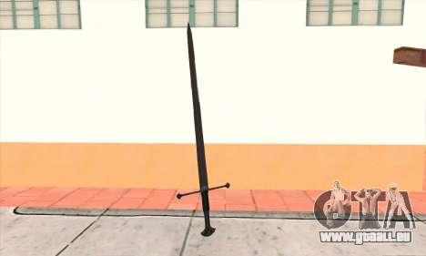 Sword Narsil für GTA San Andreas