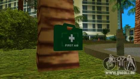 Trousse de premiers soins de GTA IV pour GTA Vice City
