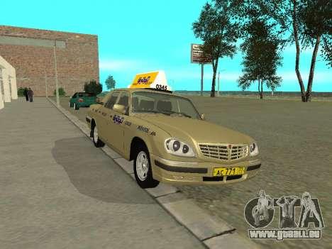 GAZ 31105 Volga Taxi für GTA San Andreas