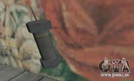 Grenade de Saints Row 2 pour GTA San Andreas
