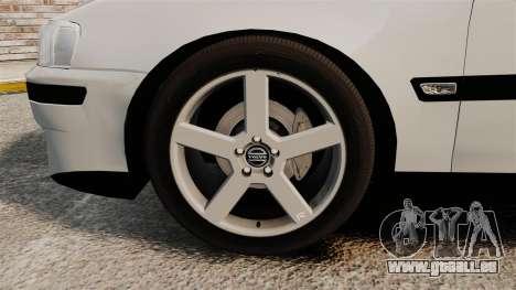 Volvo S60R pour GTA 4 est une vue de l'intérieur