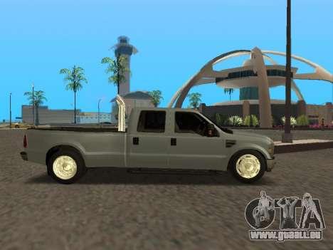 Ford F-350 pour GTA San Andreas vue de droite