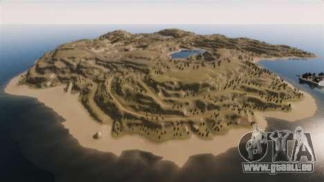 Cliffside emplacement Rallye pour GTA 4