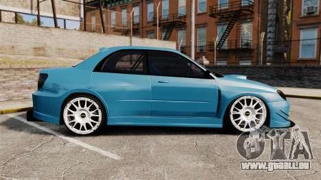 Subaru Impreza HD Arif Turkyilmaz für GTA 4 linke Ansicht