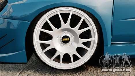 Subaru Impreza HD Arif Turkyilmaz pour GTA 4 Vue arrière