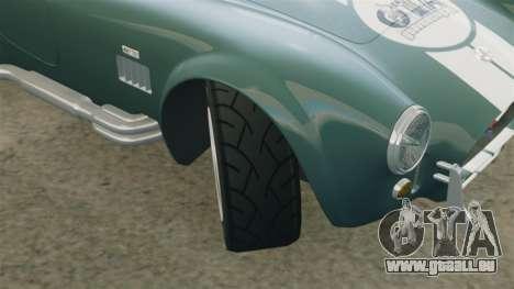 Shelby Cobra 427 SC 1965 pour GTA 4 est une vue de dessous