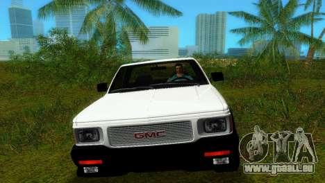 GMC Cyclone 1992 pour une vue GTA Vice City de la droite