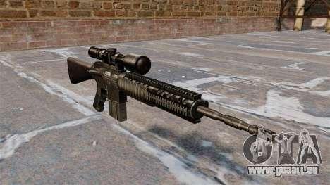 Fusil Armalite AR-10 pour GTA 4