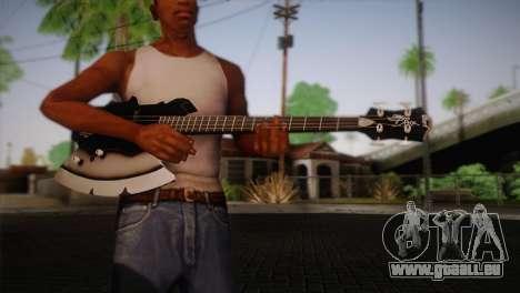 Guitare, KISS pour GTA San Andreas troisième écran