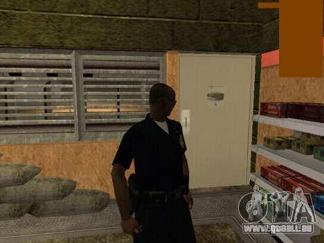 New lapd1 pour GTA San Andreas deuxième écran