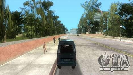 Kia Towner pour une vue GTA Vice City de la droite