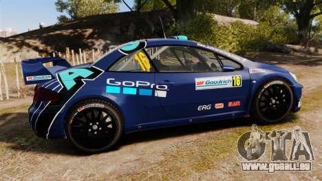 Peugeot 307 WRC pour GTA 4 est une gauche