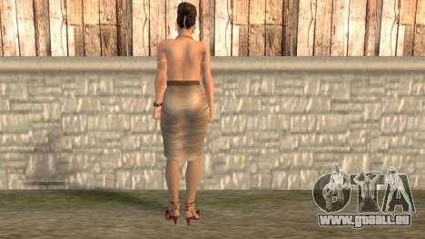 Èksella pour GTA San Andreas deuxième écran