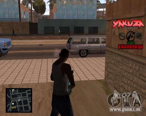 C-HUD Yakuza für GTA San Andreas zweiten Screenshot