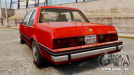 Willard Coupe für GTA 4 hinten links Ansicht