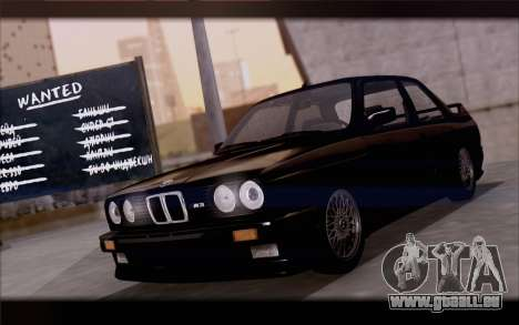 BMW M3 E30 Stock Version für GTA San Andreas