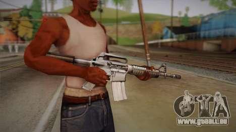 M4 von Max Payne für GTA San Andreas