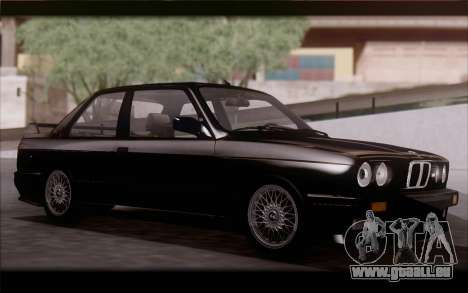 BMW M3 E30 Stock Version für GTA San Andreas linke Ansicht