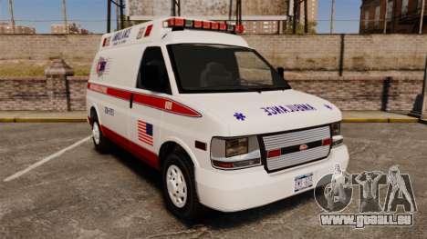 Vapid Speedo AMR [ELS] für GTA 4