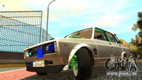 VAZ 2105 für GTA 4 Innen