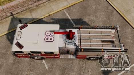 Feuerwehrauto für GTA 4 rechte Ansicht