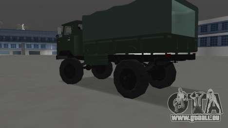 GAZ 66 pour une vue GTA Vice City de la gauche