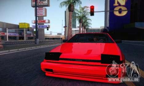 Toyota Corolla GT-S 1985 pour GTA San Andreas laissé vue