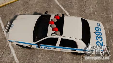 Ford Crown Victoria 1999 NYPD für GTA 4 rechte Ansicht