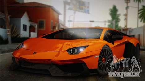 Lamborghini Aventador LP 700-4 RENM Tuning pour GTA San Andreas