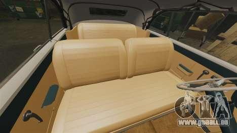 Cadillac Series 62 1949 pour GTA 4 vue de dessus