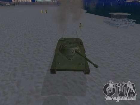 PT-76 pour GTA San Andreas vue de côté