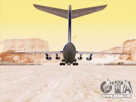 Il-76td-90vd-Volga-Dnepr für GTA San Andreas Rückansicht
