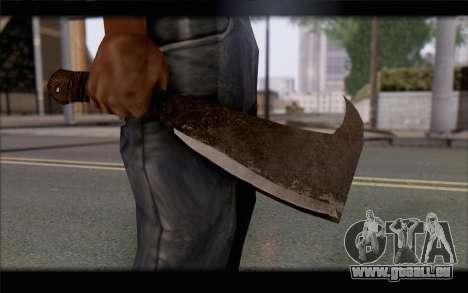 Machette pour GTA San Andreas troisième écran