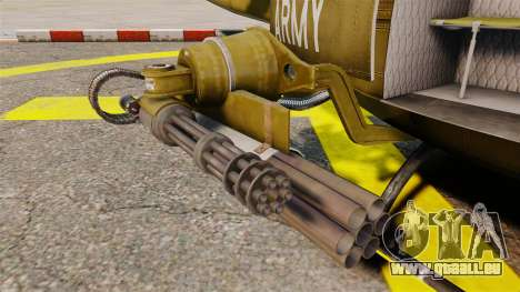 Bell UH-1 Iroquois v2.0 Gunship [EPM] pour GTA 4 est un côté