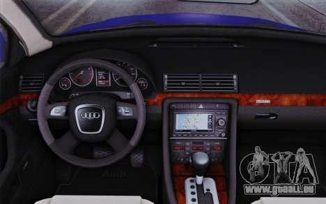 Audi A4 2005 Avant 3.2 Quattro Open Sky pour GTA San Andreas vue de droite