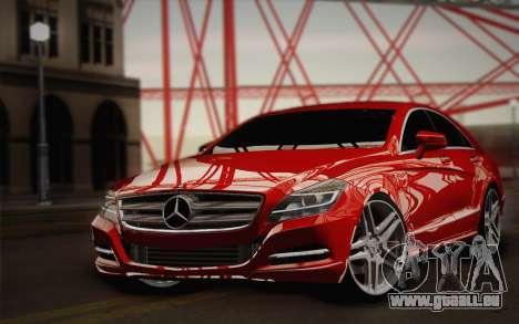Mercedes-Benz CLS 63 AMG 2012 Fixed für GTA San Andreas Seitenansicht